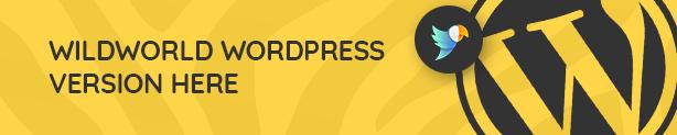 WildWorld - Zoo | Safari & Animal Protection Environment HTML Template - 1