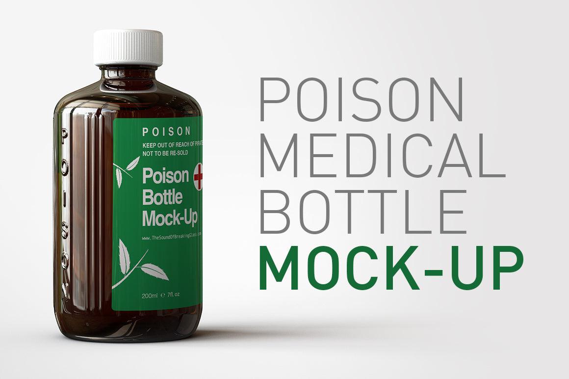 Poison Bottle Mock-Up