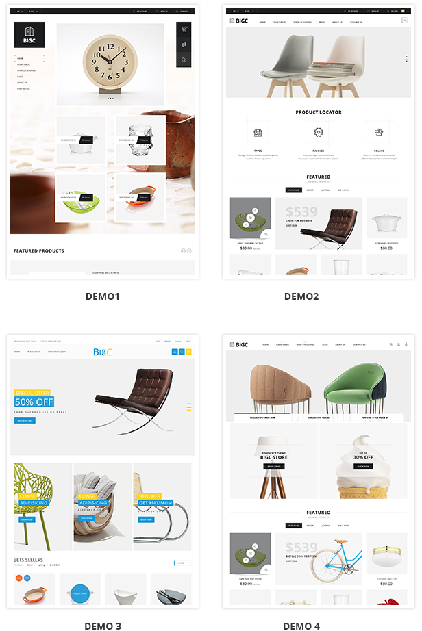 Big Shop - Furniture RTL Responsive WooCommerce WordPress Theme - 5