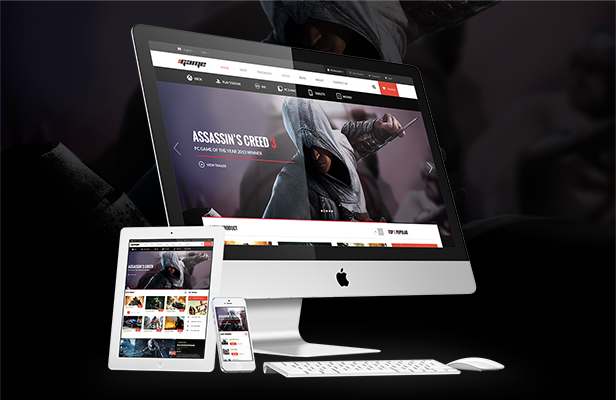 iGame - Fully Responsive
