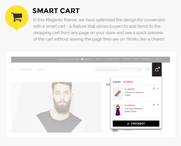 Apparel store theme