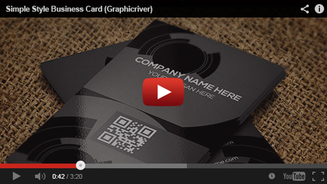 Simple Style Business Card