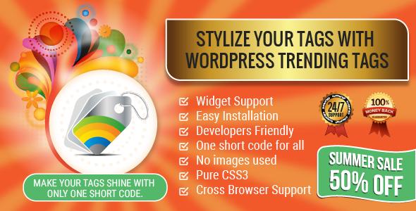 Wordpress Trending Tags Plugin Image