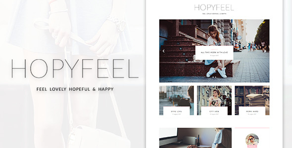 Hanfin - Personal & Clean Blog Template - 2