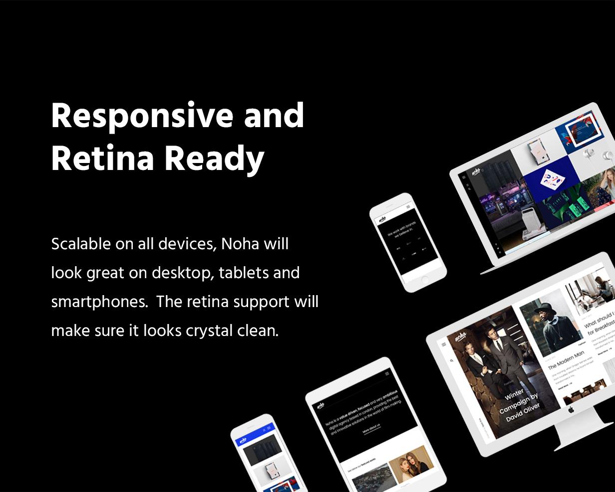 Noha - A modern Agency WordPress Theme for Creatives - 6