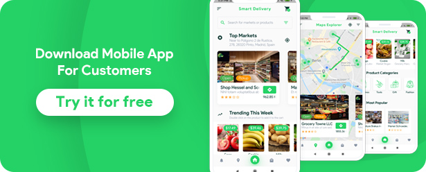 Grocery, Food, Pharmacy, Store Delivery Mobile App with Admin Panel - 16