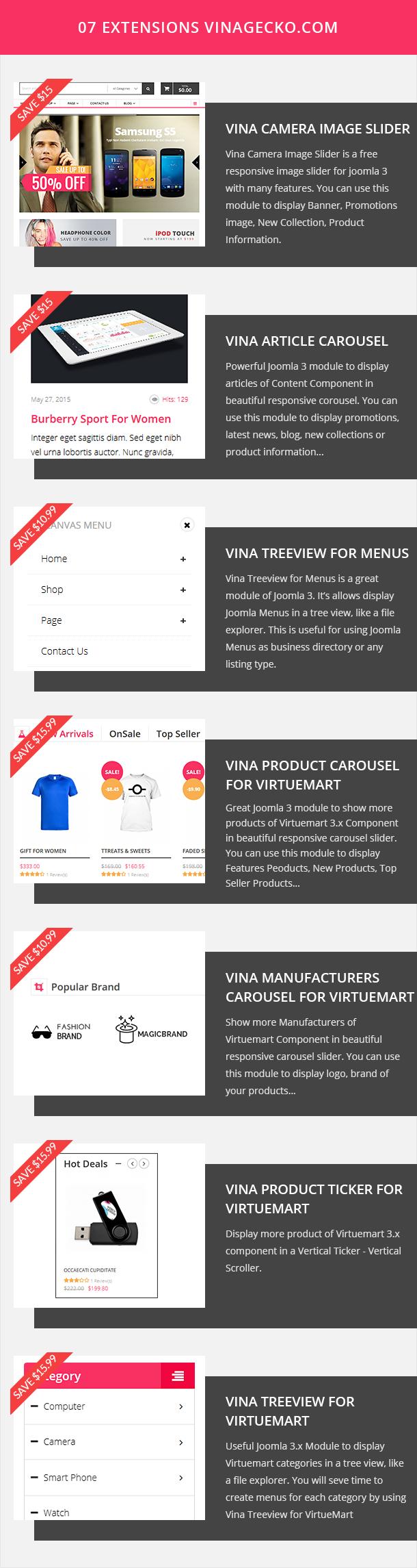 Vina Rikito - Responsive VirtueMart Joomla Template - 13