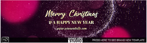 Christmas Slideshow After Effects Template 2017