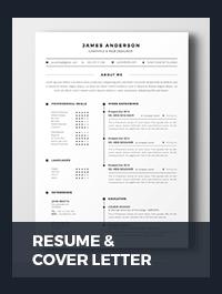 Resume & Cover Letter - 5