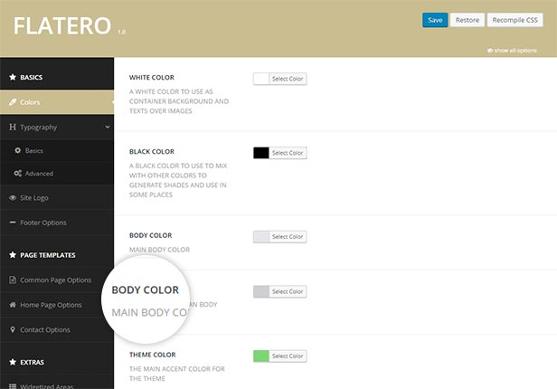 Flatero - Responsive WordPress Blog Theme - 5