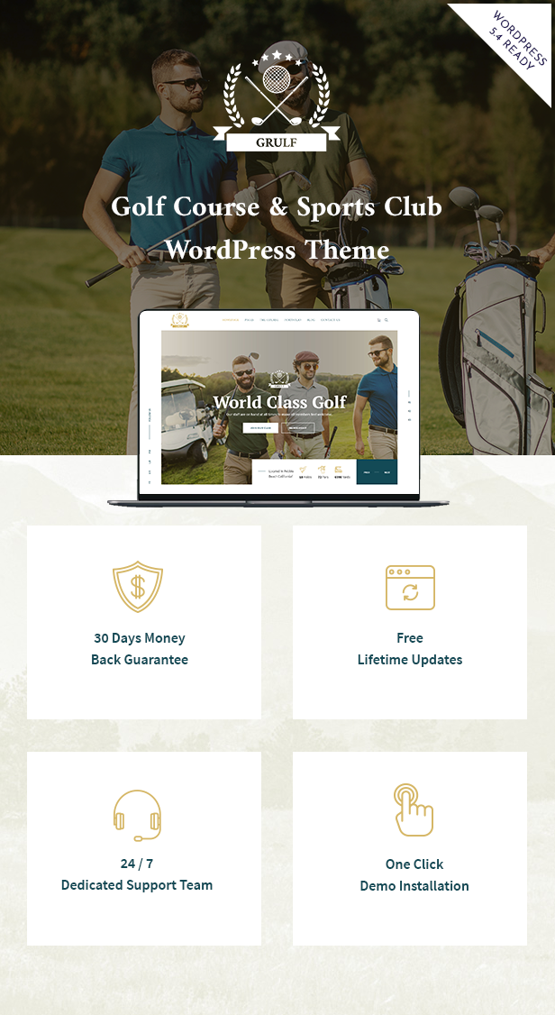 Grulf WordPress Theme