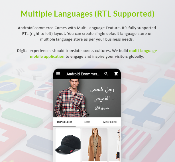 Android Ecommerce - Universal Android Ecommerce / Store Full Mobile App with Laravel CMS - 15