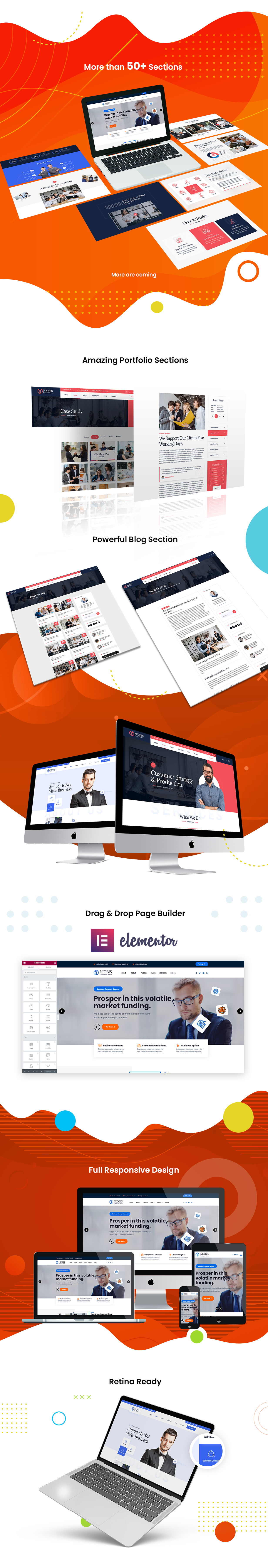 NioBis - Business Consulting WordPress - 3