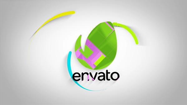 Unfolding Logo Reveal - 3