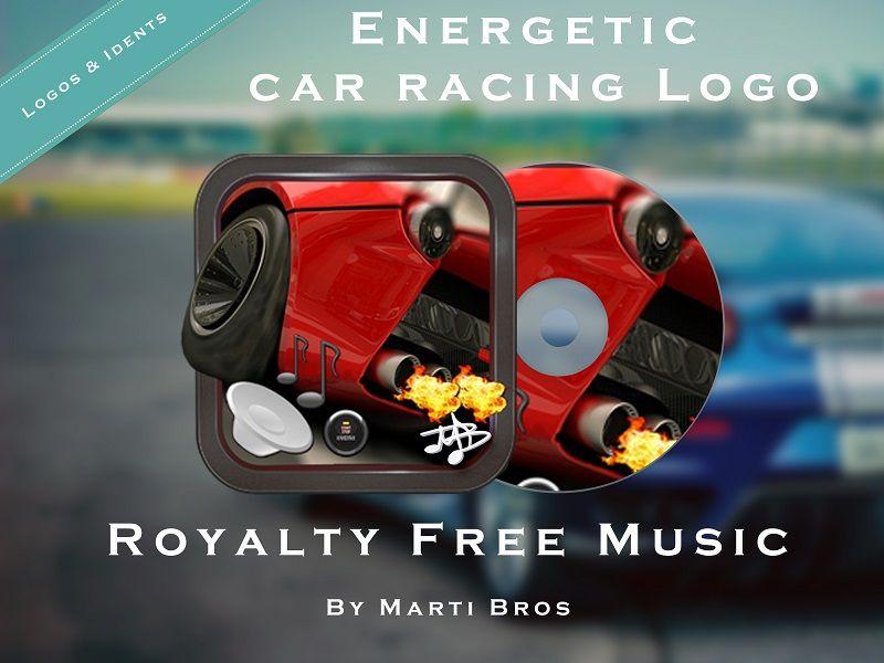 Energetic Car Racing Logo - 1