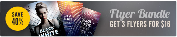 Club Flyer Bundle Vol.02