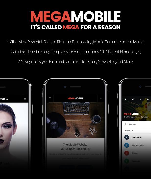 MegaMobile   PhoneGap & Cordova Mobile App - 10