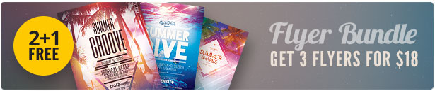 Summer Flyer Bundle Vol 09