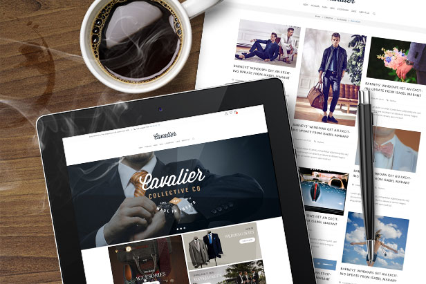 Cavalier - E-Commerce and Blog PSD Theme - 2