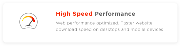 Profi WP high speed performance