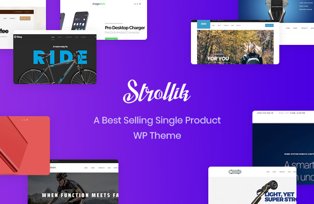 Strollik Most Wanted Single Product WooCommerce WordPress Theme