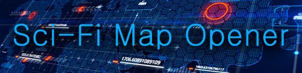 Sci-Fi Map Opener