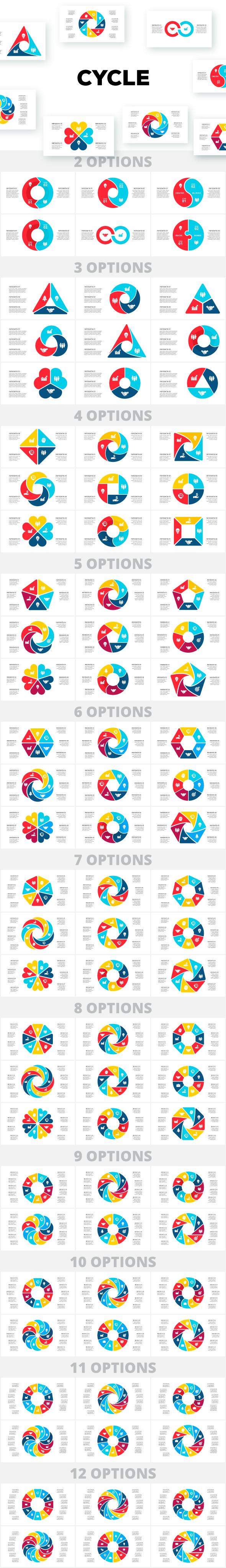 Multipurpose Infographics PowerPoint Templates v.5.0 - 139