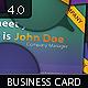 Initials Business Card 5.0 - 3
