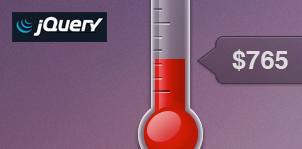 jQuery Goal Thermometer