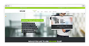 Genuine - Multi Purpose HTML5 Creative Template - 8