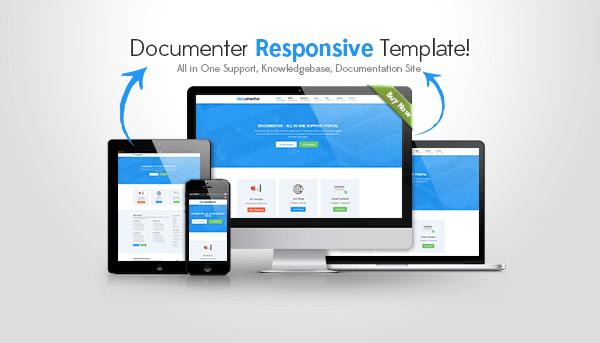 Documenter - All in One Support, Knowledgebase, Documentation Website HTML5 Site Template