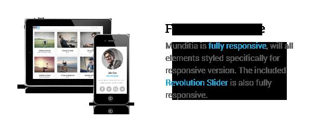 Mundus - A Business One Page WordPress Theme - 3