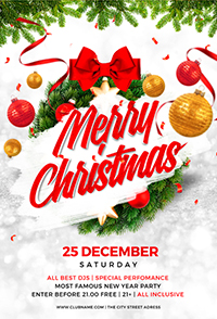 Christmas Holiday Flyer V3 - 12