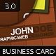 Initials Business Card 5.0 - 2