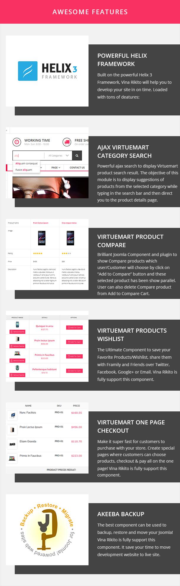 Vina Rikito - Responsive VirtueMart Joomla Template - 14