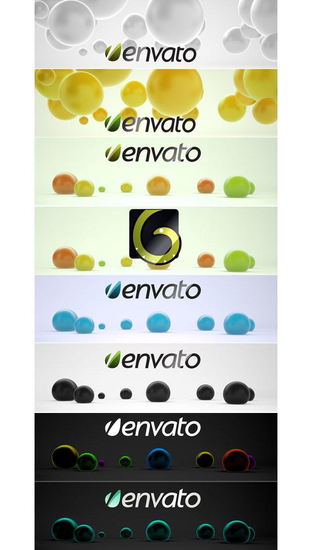 Colorful 3D Balls - 5