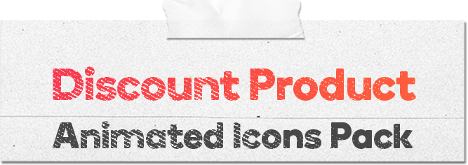 Discount Product 16 Animated Icons Pack - WordPress Lottie Json Animation SVG - 1