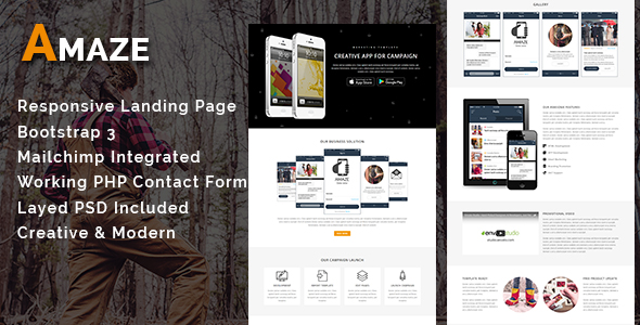 LEAD - Multipurpose Responsive HTML Landing Page - 4