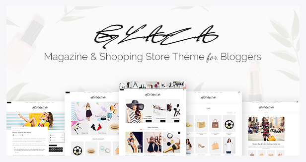 Glaza WordPress theme