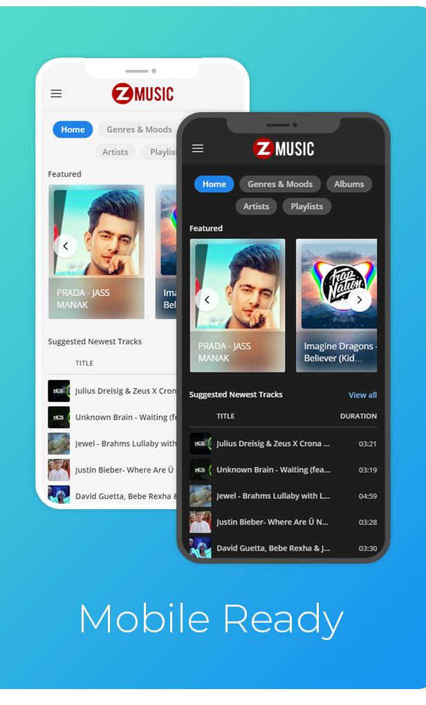 Zuz Müzik - Peşin Müzik Platformu Sistemi - 3