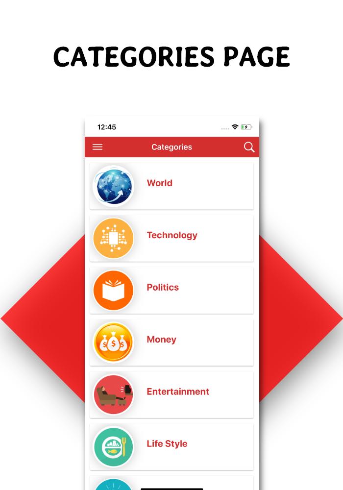 Full functional news app with admin panel Firebase Firestore & Ionic Framework - 8