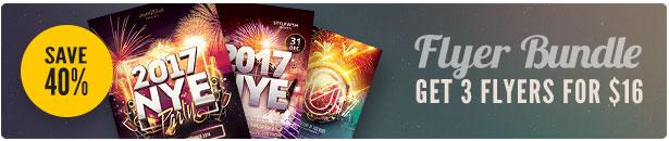 New Year Flyer Bundle