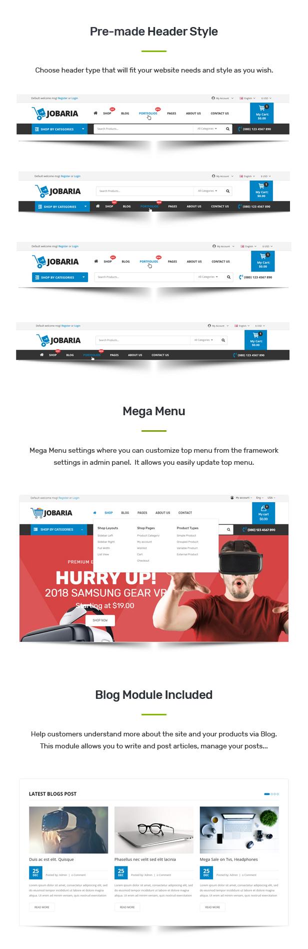 Jobaria - Technology Theme for WooCommerce WordPress 7