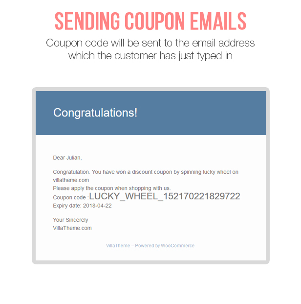 WooCommerce Lucky Wheel - Spin to win - 10