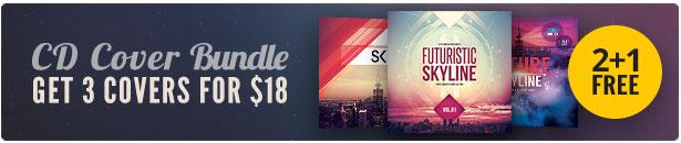 City CD Cover Bundle