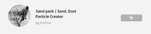 Particle Builder   Sand Pack: Dust Sand Storm Disintegration Effect Vfx Generator - 23