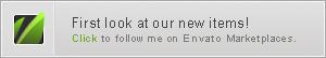 Click to follow me on Envato