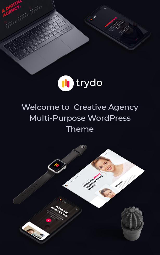Trydo v1.0.0-Creative Agency&Portfolio WordPress主题插图14