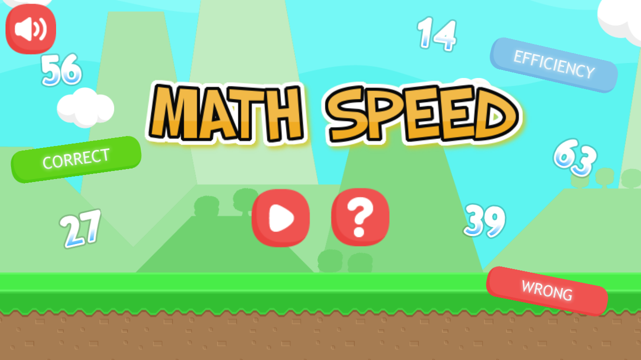 Math Speed - HTML5 Game (Capx) - 2