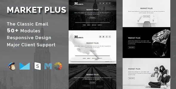 Charity - Responsive Email Template With Stamp Ready Builder